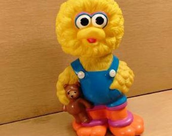 Sesame Street Baby Bird Bank, by Illco Toy Company Made in China A