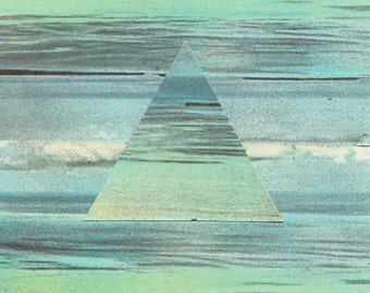 Collage Art, Surreal Art, Archival Print, Home Decor - Mare Remix