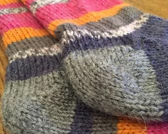 Worsted Toe Up Socks Pattern