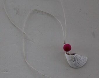 seashell mermaid necklace