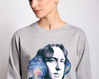 "Sweatshirt ""Oscar Wilde"""