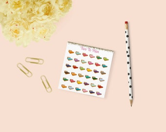 Bed Stickers: Mini Size! Perfect for the Erin Condren Life Planner!