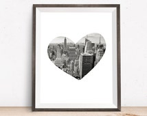 Unique New York Wall Art Related Items Etsy
