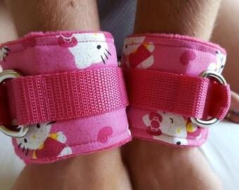 Hello Kitty Wrist Cuffs