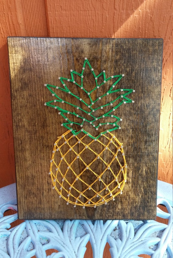 Welcome Pineapple String Art Made to