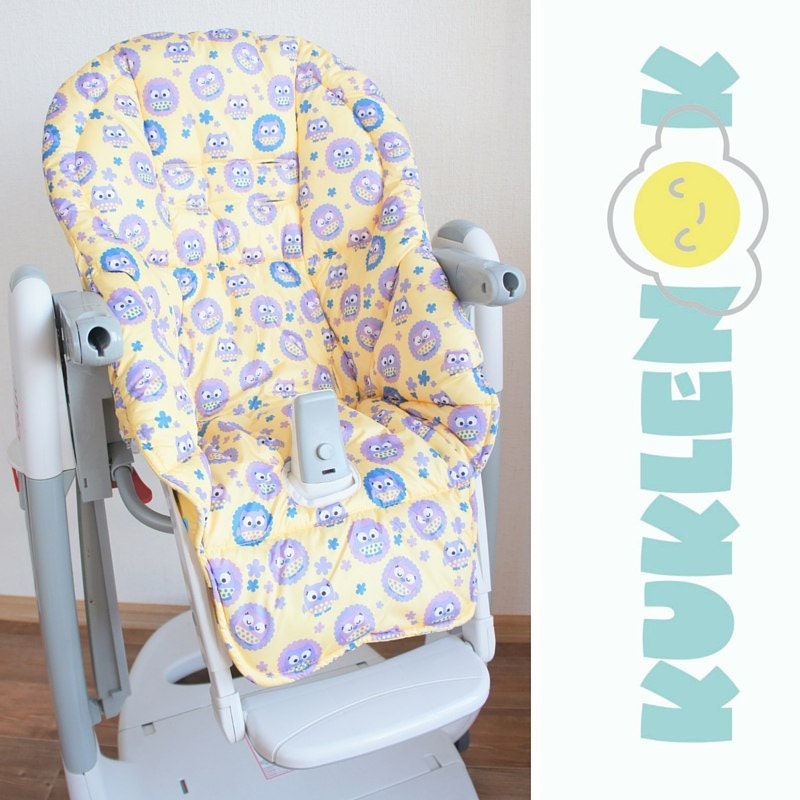 Double Sided Peg Perego Tatamia High Chair Cover