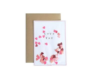Love you I Kaart