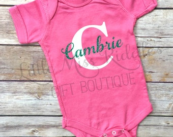 Personalized Infant Bodysuits, Infant Creeper, Baby Bodysuit, Baby Shower Gift, Custom Baby Gift, Baby Gift, Baby Clothing, NB-24 Months