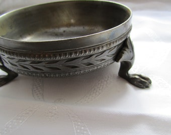 small tin bowl