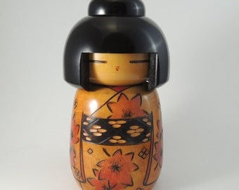 Vintage BIG kokeshi doll