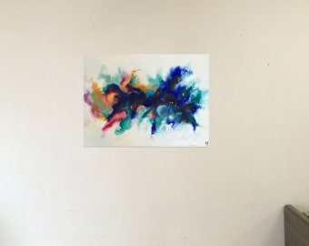 Through the morning, through the night- original abstract painting