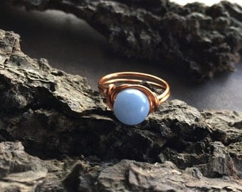 Angelite Ring