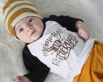 baby boy thanksgiving outfit, baby girl thanksgiving, thanksgiving shirt, mommy's little butterball, kids turkey shirt, thanksgiving raglan