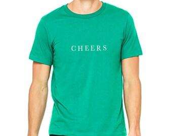 Men's St. Patrick's Day Shirt - CHEERS
