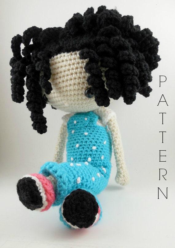 Amigurumi Doll Crochet Patterns : Emma Amigurumi Doll Crochet Pattern PDF