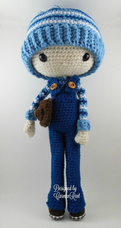 Amigurumi Doll Pdf : Oscar amigurumi doll crochet pattern pdf from carmenrent