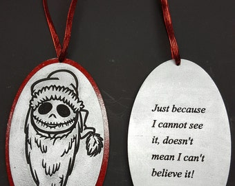 Santa Jack Christmas Ornament