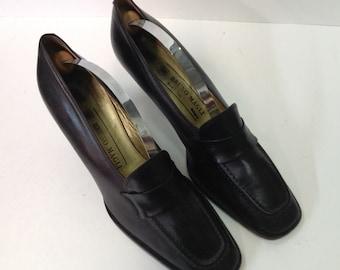Vintage Bruno Magli Brown Women Shoes. Size 8.5 B