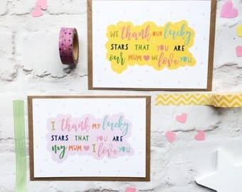 Personalised Mothers Day Card - Card For Mum - Birthday card for Mum - Mom Card - Card for Mom