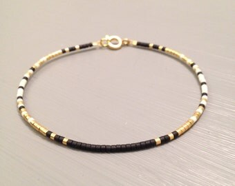 Bridesmaid Bracelet Gold Bridesmaid Jewelry Gold filled Bracelet Maid of Honor Gift