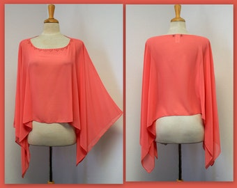 Soft,Lightweight Shrug top is for Smart Wear.Hip Hop, Boho,Casual.One Size
