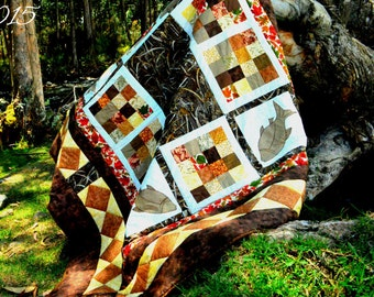 Fisherman Quilt Ready to ship