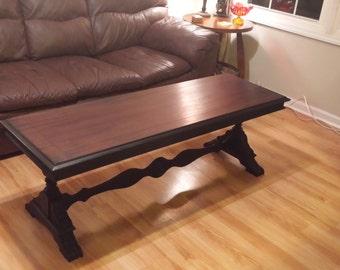 Antique Brandt Mahogany Living Room Table