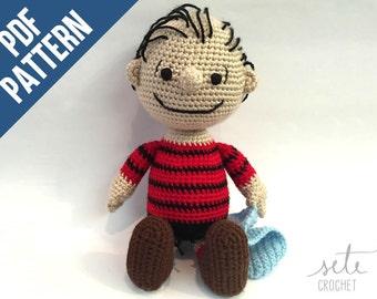Amigurumi Crochet Pattern - Linus Van Pelt [Peanuts]