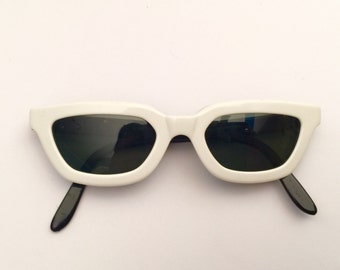 Vintage Persol Moschino 80's Cat Eye Sunglasses