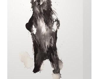 Canadain Bear Greeting Card