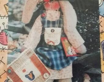 "Plain Jane Creations ""Kellibeth"" bunny doll pattern"