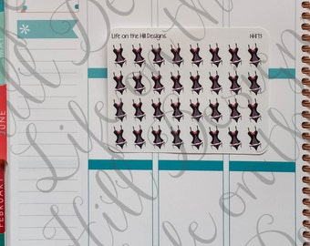 Planner Stickers- Lingerie 32 ct HH173
