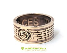 14 K Gold Knights Templar Ring   Massonic Ring(MADE TO ORDER)