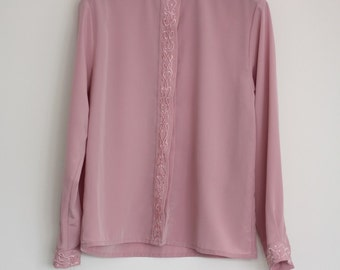 Vintage Pink Blouse
