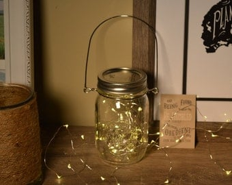 Pint (Medium) Size Mason Jar Lanterns