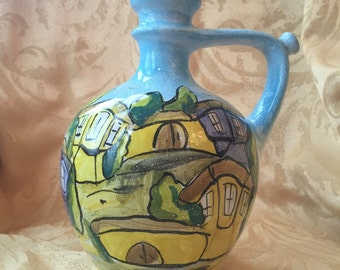 Bulgarian Clay Water Jug