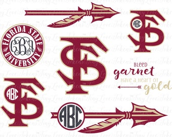 Florida State Design for Silhouette and other craft cutters (.svg/.dxf/.eps/.pdf/.png)