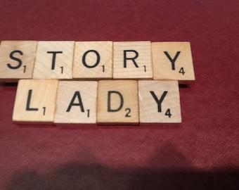 Story Lady Pin