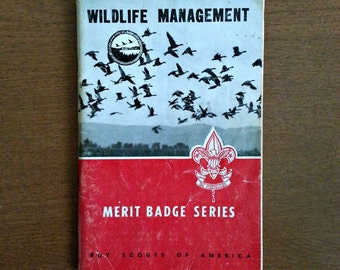 BSA Merit Badge Book: Wildlife Management
