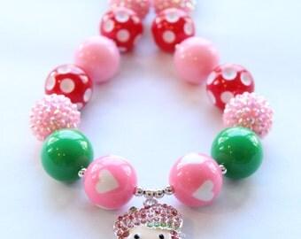 Strawberry Shortcake Bubblegum Necklace