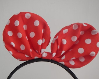 Minnie Mouse Headband, Micky Mouse Headband, Bunny Ears Headband, Micky headband, Girls headband, Baby Headband, Hair Accessories