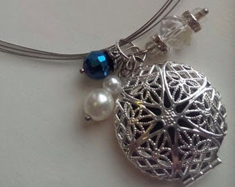 Unique Essential Oil Diffuser Necklace