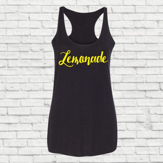 Lemonade Formation shirt, Lemonade Shirt, Lemonade,  I slay, Cause I say, Formation Tank Top