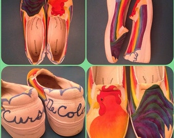 Custom Painted TOMS® Shoes