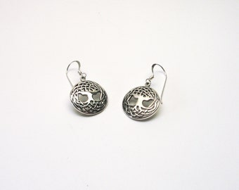 Arborvitae 925 world tree Yggdrasil earrings