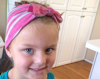 Adult/Child Headband Upcycled Hair Accessories