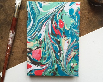 Abalone Marbled Journal - Lined