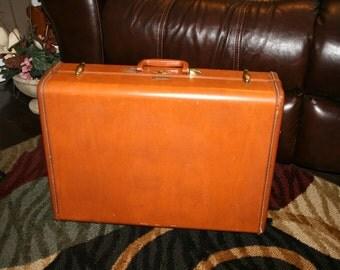Samsonite Suitcase #4621//Made by Shwayder Bros., Inc.//Home Decor//Vintage Luggage