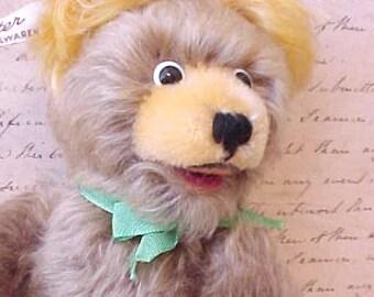 Adorable Vintage Austrian Mohair Teddy Bear by Fechter Spielwaren