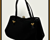 Vintage Lewis Handbag,Vintage Patent Leather Handbag,Vintage Patent Leather Lewis Handbag,Vintage Handbag,VIntage Pocketbook,Vintage Lewis